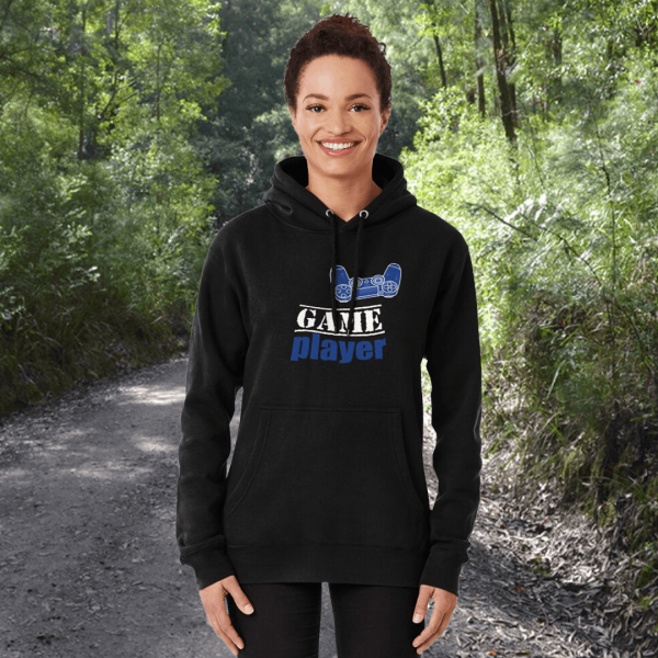 Game player - Blue Controller - Women's Hoodie - Redbubble