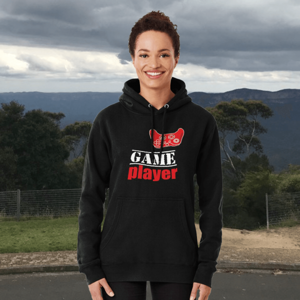 Game player - Red Controller - Women's Hoodie - Redbubble