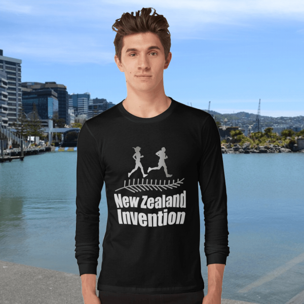 New Zealand Invention Mens Long Sleeve Shirt Redbubble