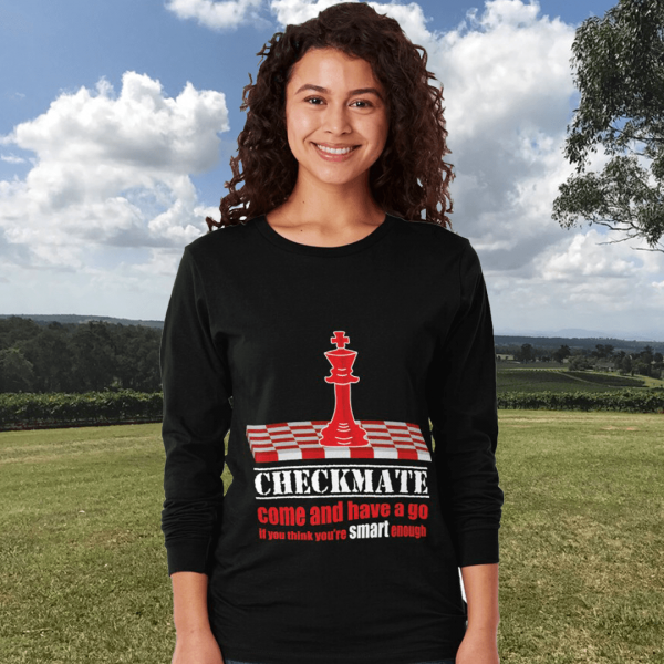 Checkmate - Have a go - Women's Long Sleeve T-shirt
