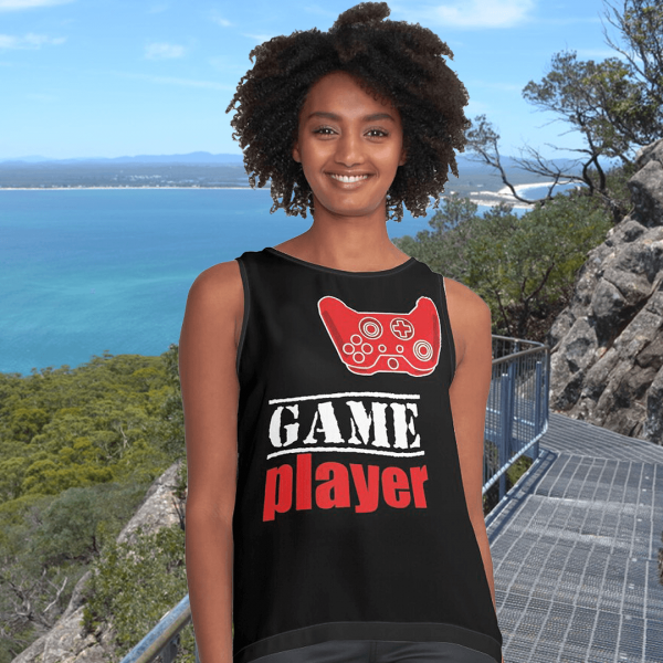 Game player - Red Controller - Women's Sleeveless Top - Redbubble