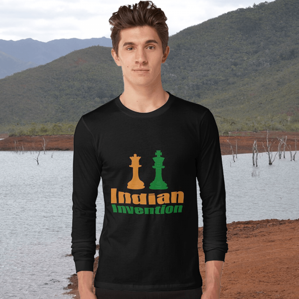 Indian Invention Men's Long Sleeve T-shirt
