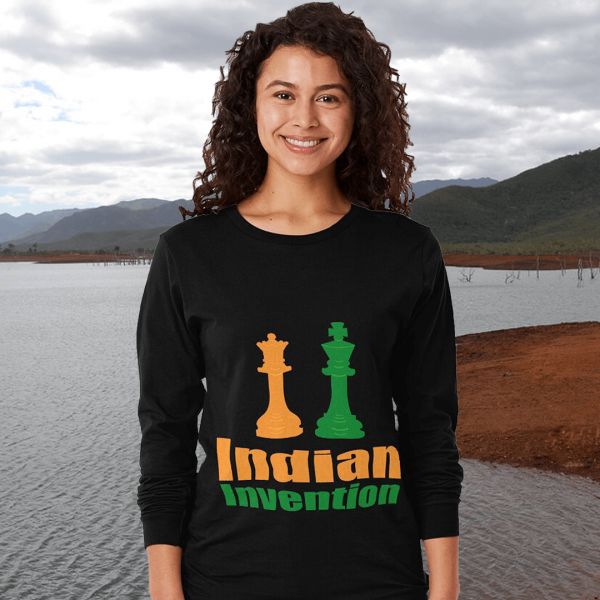 Indian Invention Women's Long Sleeve T-shirt