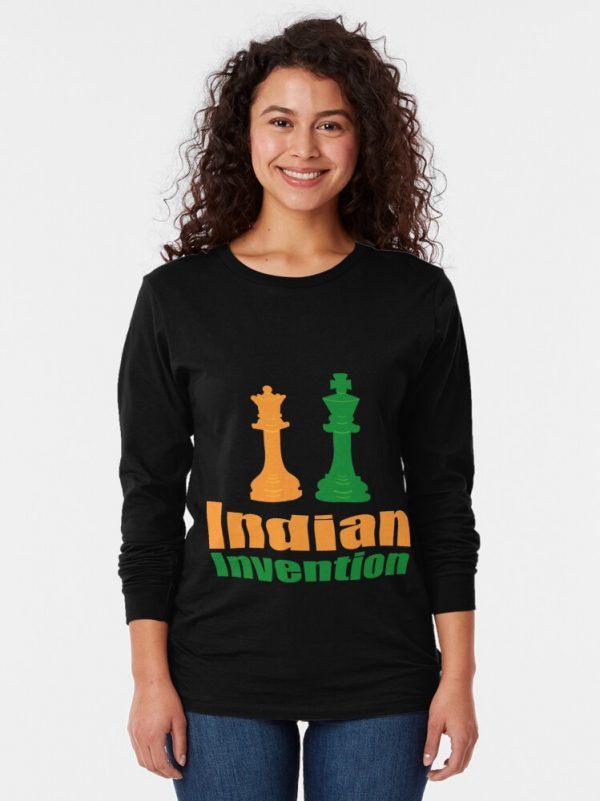Indian Invention - Women's Long Sleeve T-shirt Redbubble
