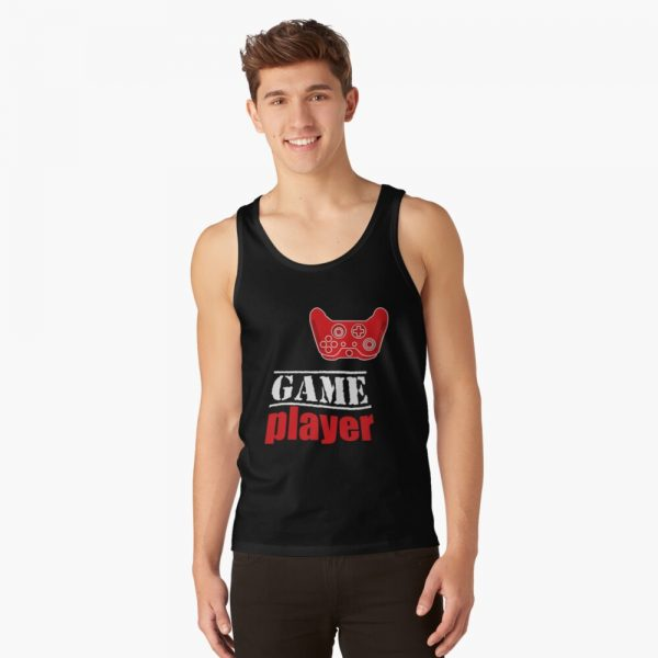 Game player Red Controller - Men's Tank Top - Redbubble