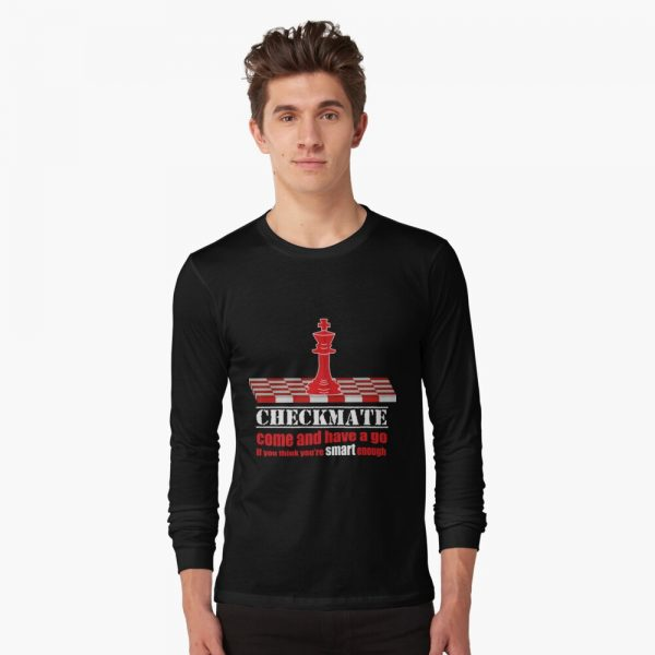 Checkmate - Have a go - Men's Long Sleeve T-shirt